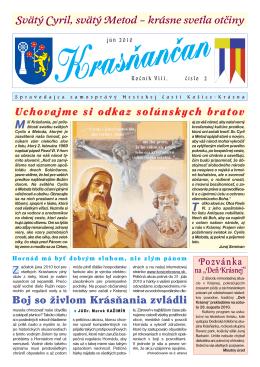 Krasňančan 2/2010 - Mestská časť Košice Krásna