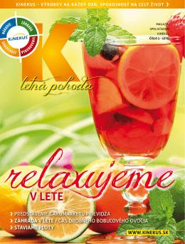 Pozrite si K magazín - leto 2014 (PDF)