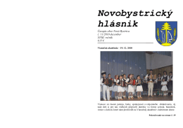 Novobystrický hlásnik 11(december)