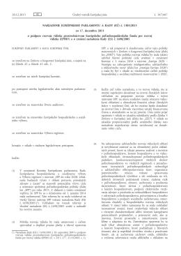 Nariadenie Európskeho parlamentu a Rady (EÚ) č. 1305 - EUR-Lex
