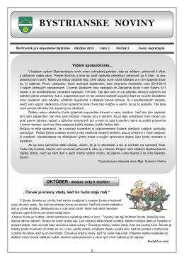 Bystrianske noviny č. 3/2013