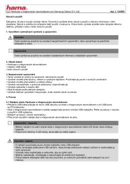 /CZ/ Hardcase s integrovaným akumulátorem pro Samsung