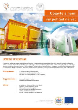 Informačná brožúra workshopu - Výskumné centrum Žilinskej