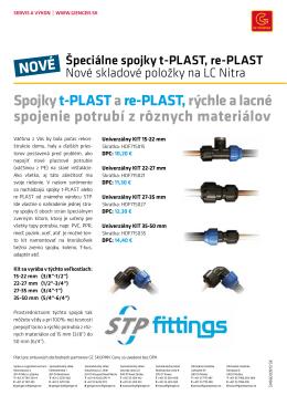 Spojkyt-PLASTare-PLAST,rýchle a lacné spojenie potrubí z r