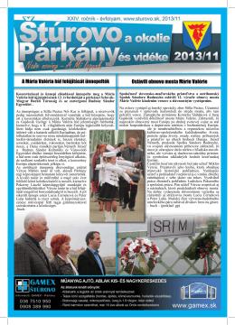 A Mária Valéria híd felújítását ünnepelték Oslávili