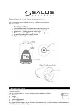 SALUS PH60 - chytreelektro.sk