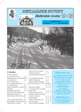 Betliarske noviny č. 19-20 (2012)