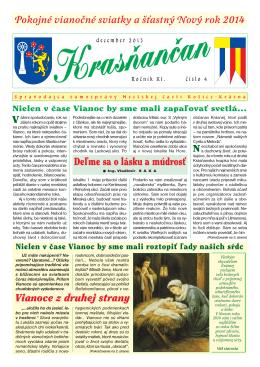 Krasňančan 0413 - Mestská časť Košice Krásna
