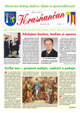 Krasňančan 1/2011 - Mestská časť Košice Krásna
