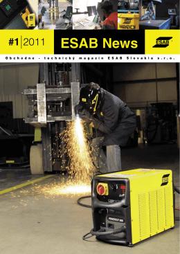 ESAB News 1 2011