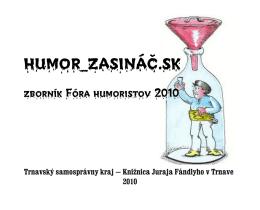 humor_zasináč.sk - Knižnica Juraja Fándlyho v Trnave