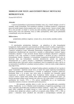 Sablona konference KCD - Ostravská univerzita v Ostravě