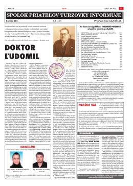 č.6 - Spolok priateľov Turzovky