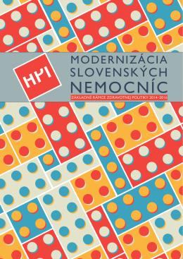Modernizácia slovenských nemocníc