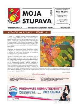 3/2012 - Moja Stupava