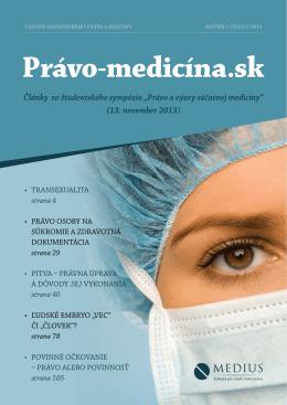 Právo-medicína.sk