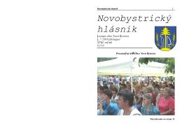 Novobystrický hlásnik 07 (júl/august)