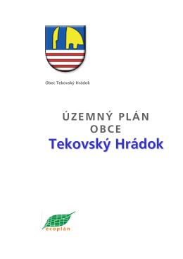 Územný plán obce Tekovský Hrádok