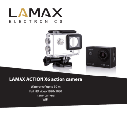 LAMAX ACTION X6 action camera