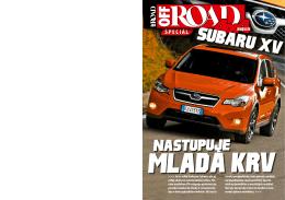 Nastupuje - Subaru Slovakia