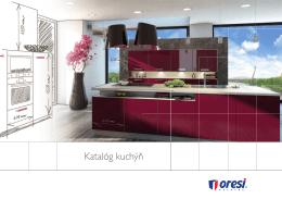 Katalóg kuchýň - Kuchyne Oresi