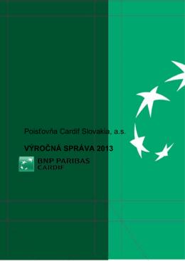 Výročná správa 2013 - BNP Paribas Cardif