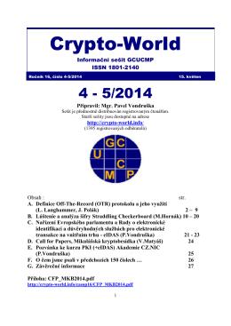 Sešit 4-5/2014 / PDF - Crypto