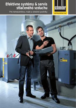Efektívne systémy & servis stlačeného vzduchu