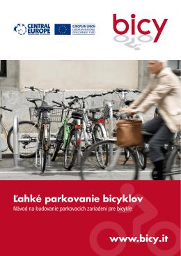 Ľahké parkovanie bicyklov www.bicy.it