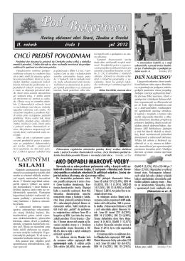 1/2012 - Obec Zbudza