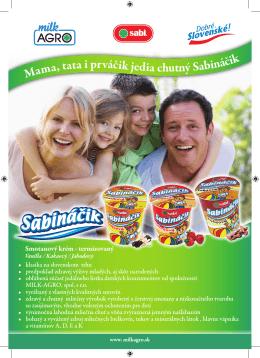 Mama, tata i prváčik jedia chutný Sabináčik