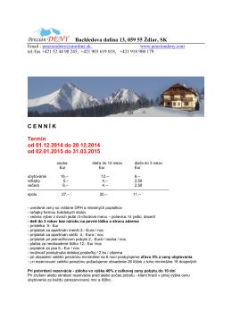 Cenník - zima 2015 309,52 kB