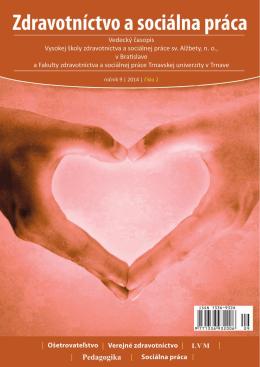Zdravotníctvo a sociálna práca SK, číslo 2/2014