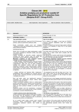 Príloha J, článok 256