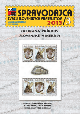 nitrafila 2013 - Zväz slovenských filatelistov