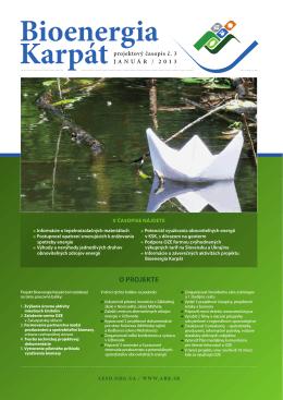 Projektový časopis Bioenergia Karpát 3