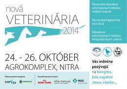 Pozvánka - Nová Veterinária 2014