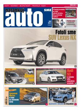 Máj 2014 - Natankuj Auto
