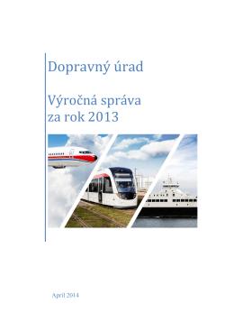 Výročná správa DÚ za rok 2013