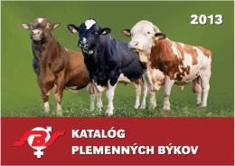 Kompletný katalóg býkov na rok 2013 (PDF; 9MB)