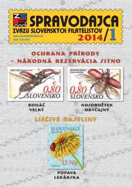 ochrana prírody - Zväz slovenských filatelistov