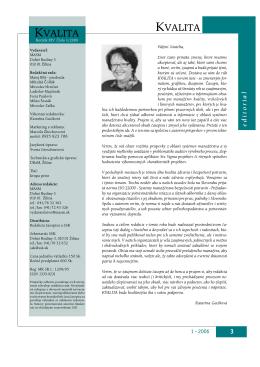 Content - Časopis KVALITA