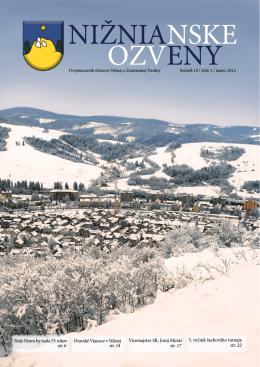 Nižnianske ozveny 1/2012 PDF 10,8 MB