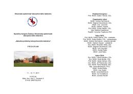 Slovenská spoločnosť telovýchovného lekárstva Spoločný