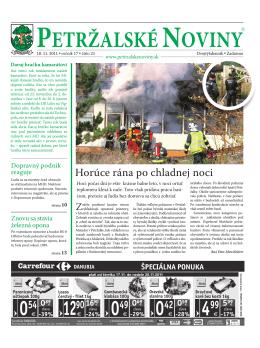 PETJAZZ 2011 - Petržalské Noviny