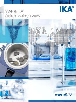 Modrý svet IKA® VWR & IKA® Oslava kvality a ceny