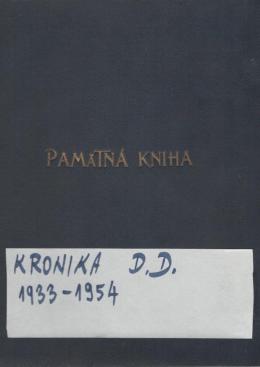Kronikár o sebe Usnesením obecného zastupiteľstva zo dňa 9