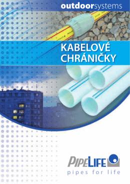 kabelové chráničky - Pipelife Czech s.r.o.