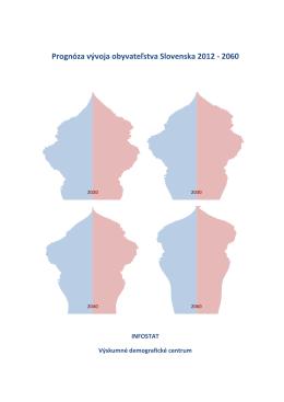 Prognóza vývoja obyvateľstva Slovenska 2012