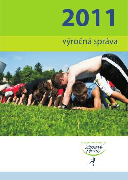 výročná správa - Komunitná nadácia Zdravé mesto